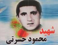 شهید محمود حسرتی