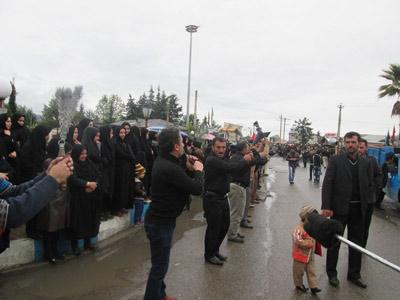 ماسال نیوز تصاویر عزاداری روز عاشورا در شاندرمن