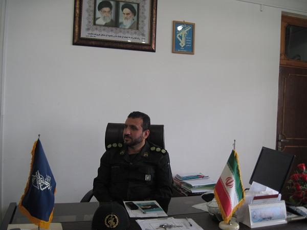 سعید بابایی فرمانده سپاه ماسال