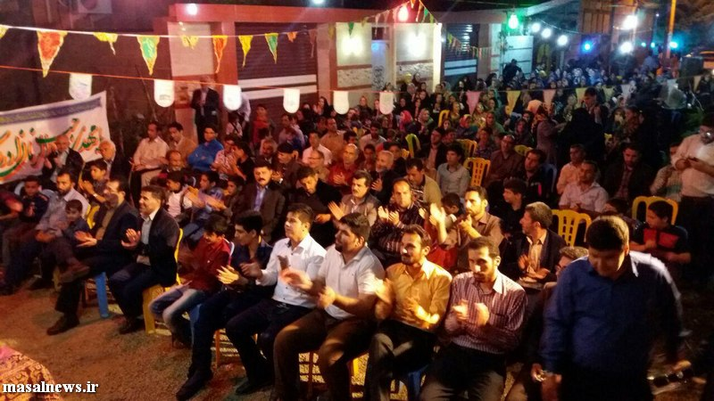 تصاویر جشن نیمه شعبان در شاندرمن عکس جشننیمه شعبان شاندرمن (1)