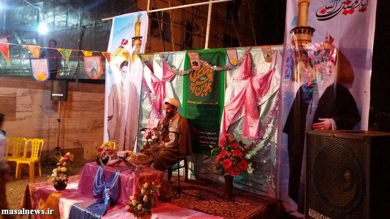 تصاویر جشن نیمه شعبان در شاندرمن عکس جشننیمه شعبان شاندرمن (8)