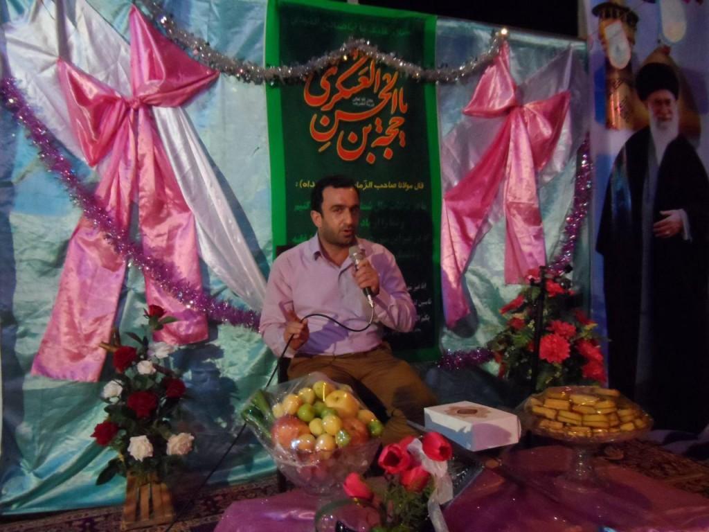 جشن میلاد امام زمان 950302 هیات محبان قمربنی هاشم شاندرمن (3)