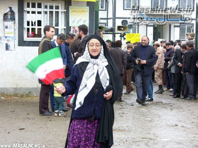 راهپیمایی 22 بهمن95 شاندرمن masalnews.ir ماسال نیوز 13